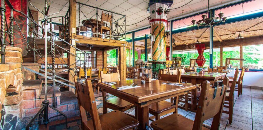 Prostory indické restaurace Ocean Spice Praha