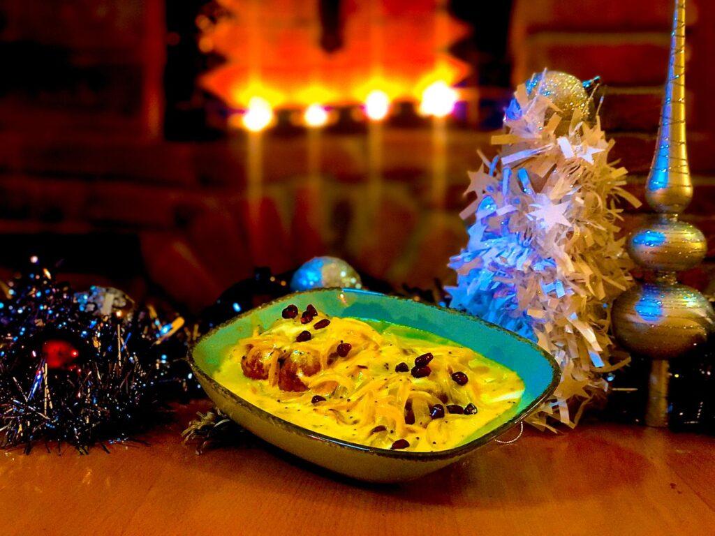Vánoce v indické restauraci Ocean Spice